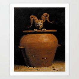 Diogenes Art Print
