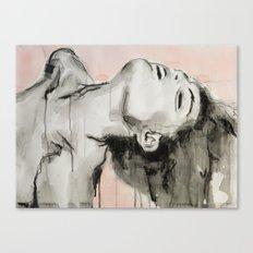 She appeared insincere and cruel Canvas Print