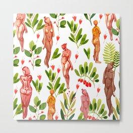 naked plants Metal Print