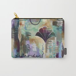 """""""Surrender Grow"""" Original Painting by Flora Bowley Carry-All Pouch"""