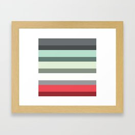 Accordion Fold Series Style E Framed Art Print
