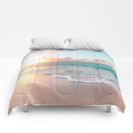 Pink Sea Comforters