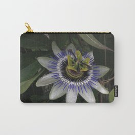 Delicate and Beautiful Passiflora Flower Carry-All Pouch