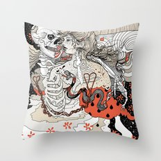 Just Animals Throw Pillow
