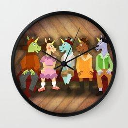 The Little Rascal Unicorns Wall Clock