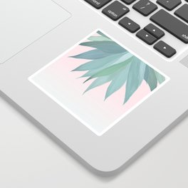 Delicate Agave Fringe Illustration Sticker