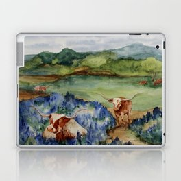 Just the Longhorns, Hanging Out Laptop & iPad Skin
