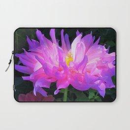 Stunning Pink and Purple Cactus Dahlia Laptop Sleeve