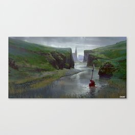 River Bed Canvas Print