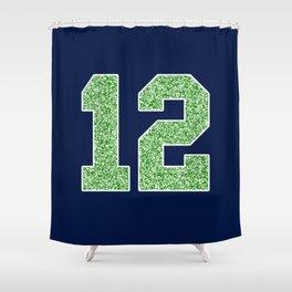 12th Man Shower Curtain