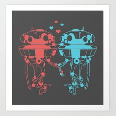 Probe Droid Lovin' Art Print