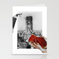 metropolis Stationery Cards featuring Metropolis by Lerson