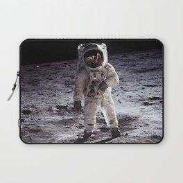 Buzz Aldrin on the Moon Laptop Sleeve