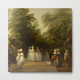 "Thomas Gainsborough ""The Mall in St. James's Park"" Metal Print"