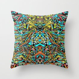 Zumachi Throw Pillow