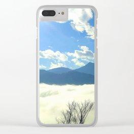 Winter in Slovenia Clear iPhone Case