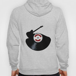 Chicago Blues Music Silhouette Record Hoody