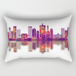 Saitama Japan Skyline Rectangular Pillow