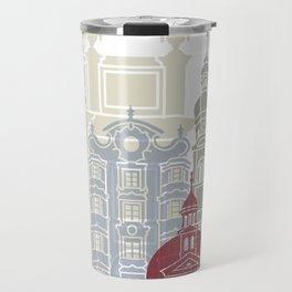 Innsbruck skyline poster Travel Mug