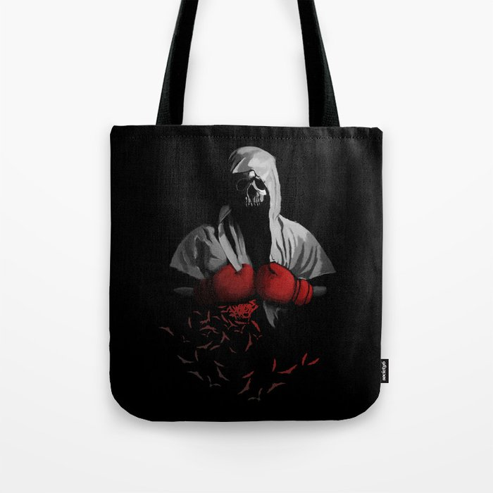 Death Boxing Tote Bag