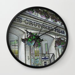 Crutched Friar Pub London Wall Clock
