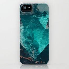 The Sea's Diamond iPhone Case