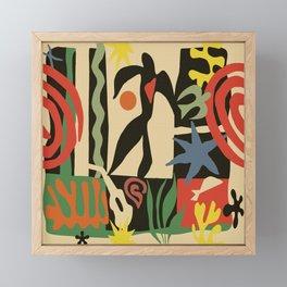 Inspired to Matisse (vintage) Framed Mini Art Print