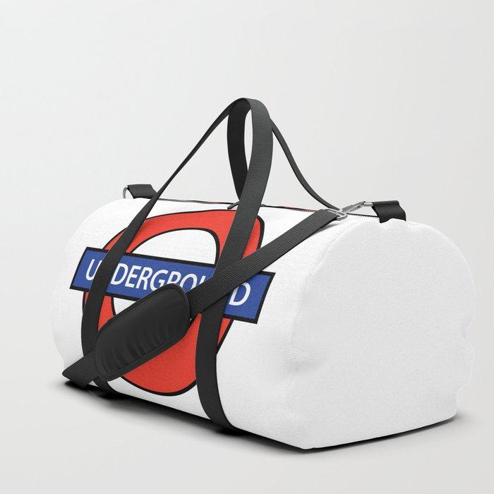 London Underground Duffle Bag