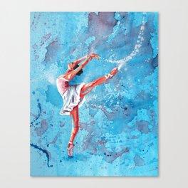 Graceful Canvas Print