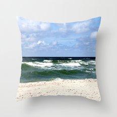 sea calling Throw Pillow