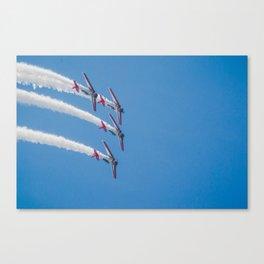 PLANES - AIR SHOW Canvas Print