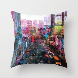 Sweet City Throw Pillow