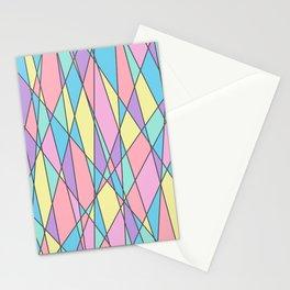 pastel border Stationery Cards