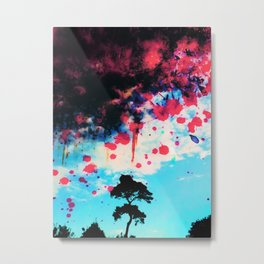 McScruff's Tree on the Skyline Metal Print