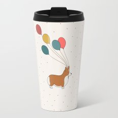 HAPPY NEW YEAR CORGI Travel Mug