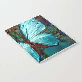 The Blue butterfly Notebook