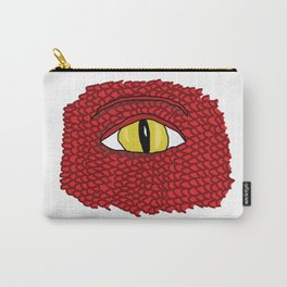 Red Dragon Eye Carry-All Pouch