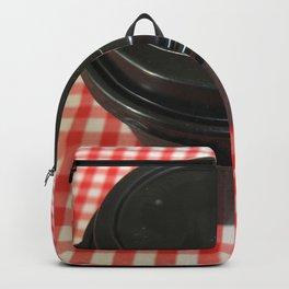 Black Coffee Cup Backpack