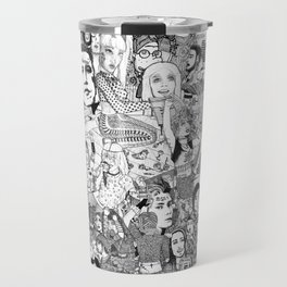 Horror Vacui Travel Mug