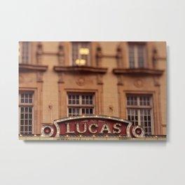 The Lucas Theater Savannah Georgia Metal Print