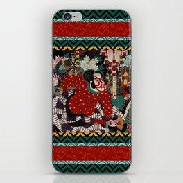 Kabuki Samurai Warriors iPhone Skin