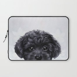 Toy poodle Black Laptop Sleeve