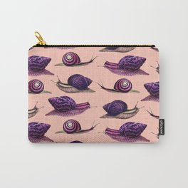 Snails x Infinity (Purple Neon) Carry-All Pouch