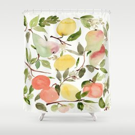 frutas  Shower Curtain