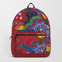 Blue Blooms Backpack