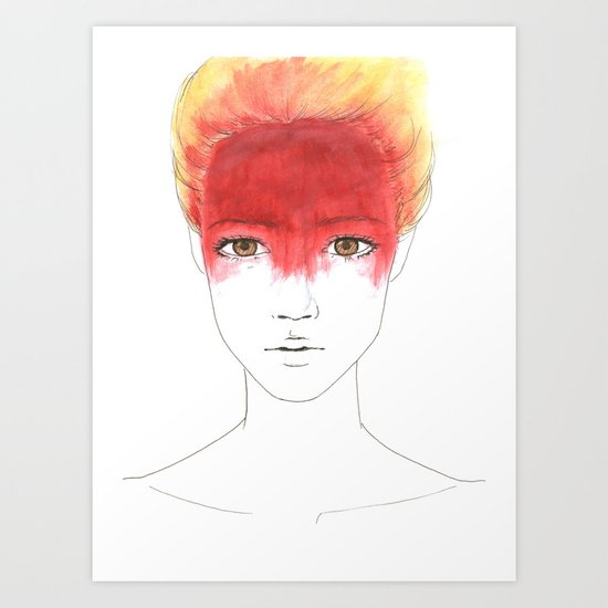The 2nd tribe Art Print