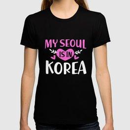 Kpop K-Pop My Seoul Is In Korea T-shirt