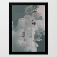 Poster T Red Art Print