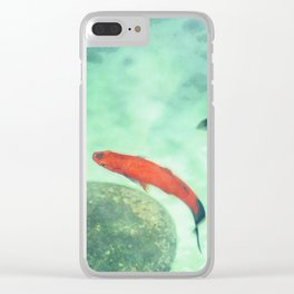 Fish watercolor III Clear iPhone Case