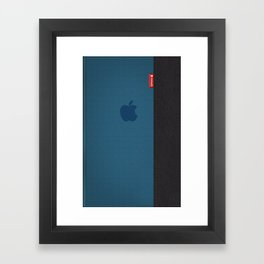 Jeans Iphone Framed Art Print